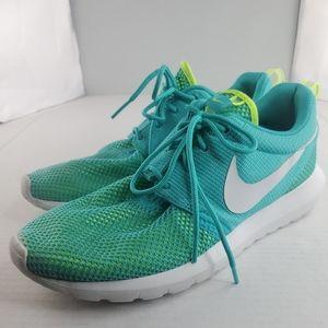 Nike Rosherun NM BR 644425 402 Light Blue Volt 2014 DS Sneakers Mens sz 8.5